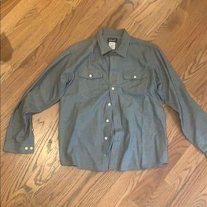 Patagonia organic cotton button down shirt